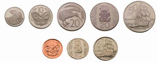 New Zealand Coin Comparison